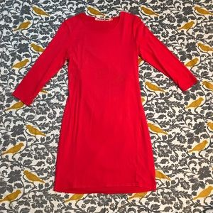 Michael Stars Coral Drape Back Dress EUC Size M